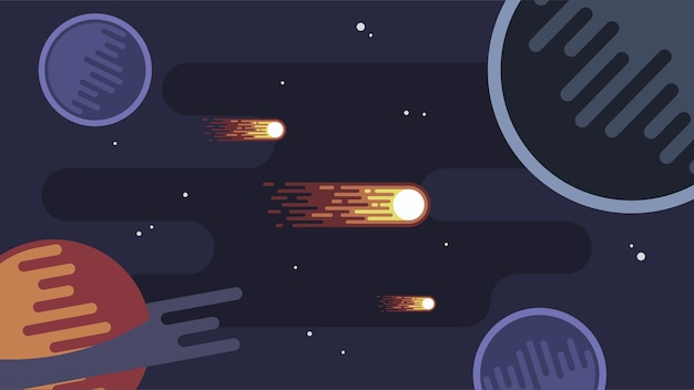 Weltraumlandschaft