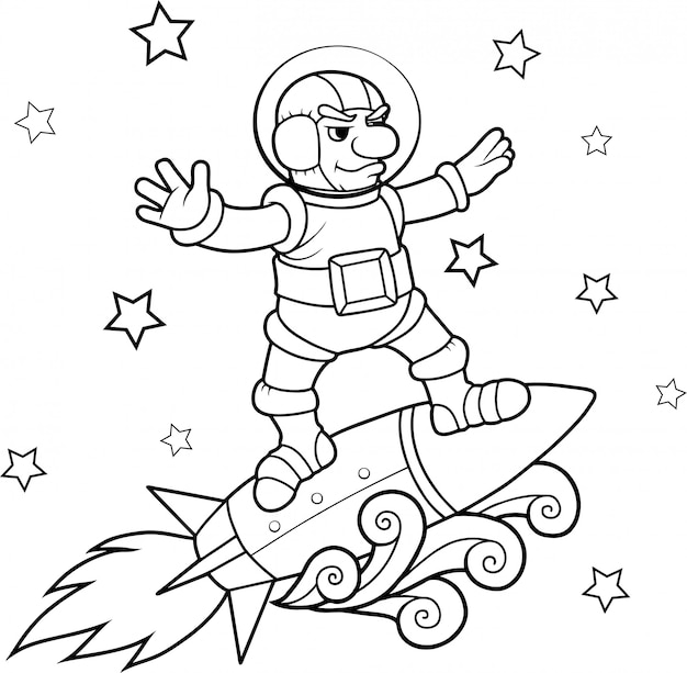 Weltraumsurfer