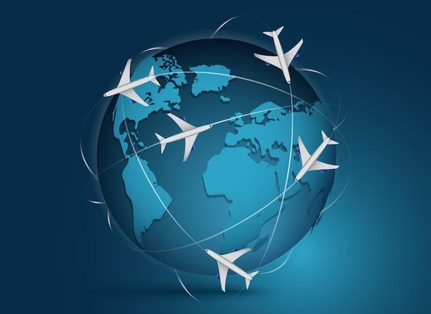 Weltreisen und tourismus