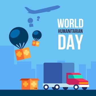 Welttag der humanitären hilfe feiern