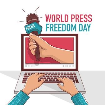 Welttag der pressefreiheit