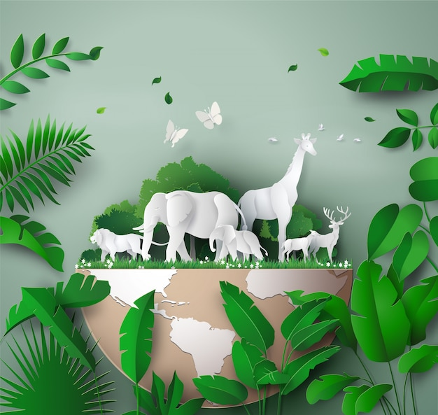 Welttag der wild lebenden tiere