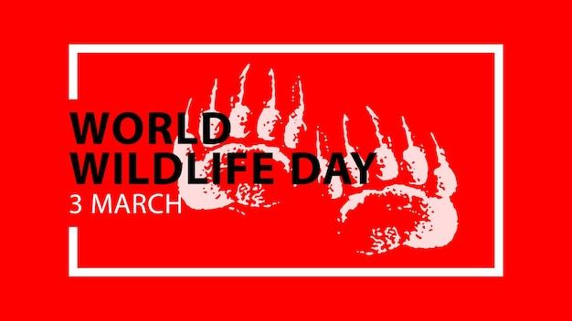 Welttag der wildtiere