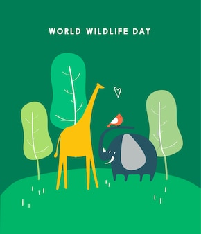 Welttag Tag Konzept Abbildung