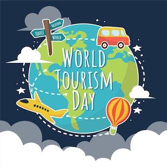 Welttourismus-Element