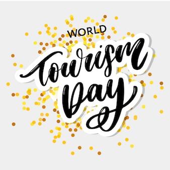 Welttourismus tag
