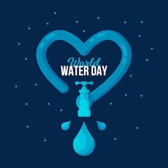 Weltwassertag illustration