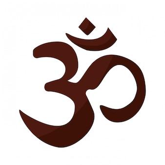 Wenn hinduismus symbol