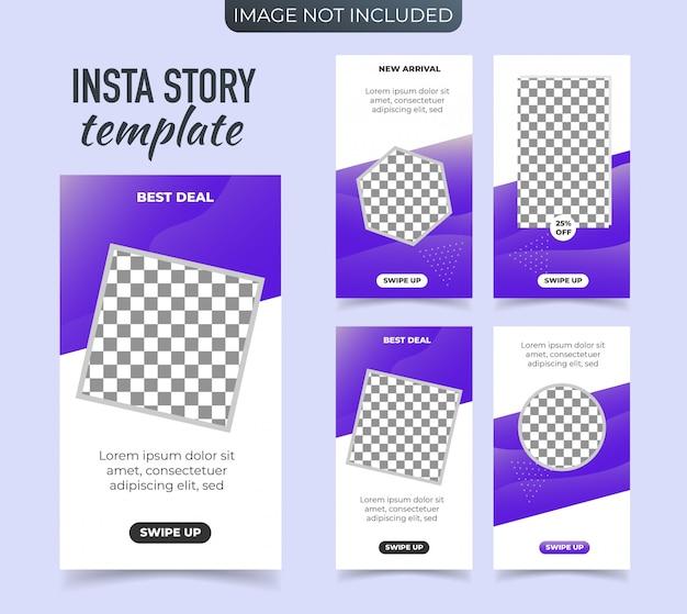 Werbebanner für instagram stories