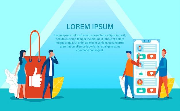 Werbebanner und online shop crosslining