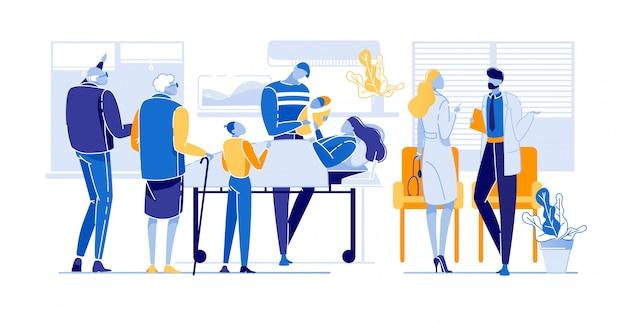 Werbeflyer medizinische forschung seniorenwohnung.