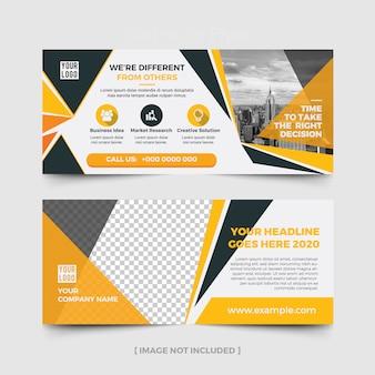 Werbetafel-layout