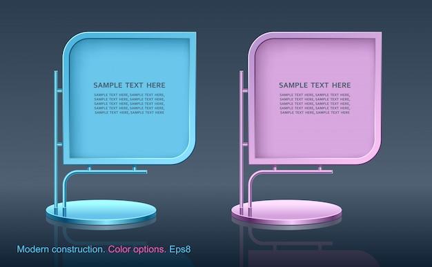 Werbetafel, web-element-design