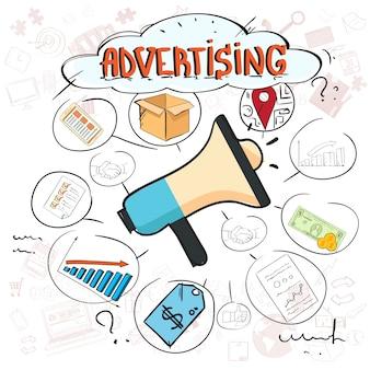 Werbung für digitales marketing