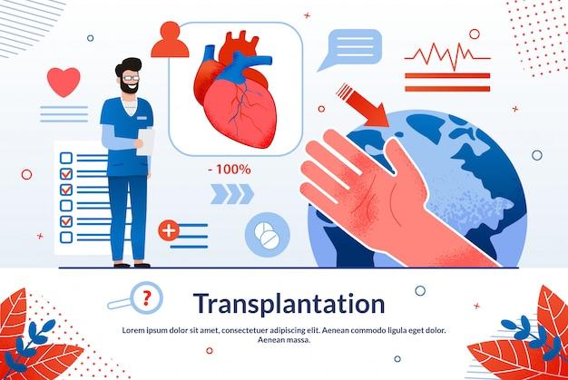 Werbung ist schriftliche transplantation.