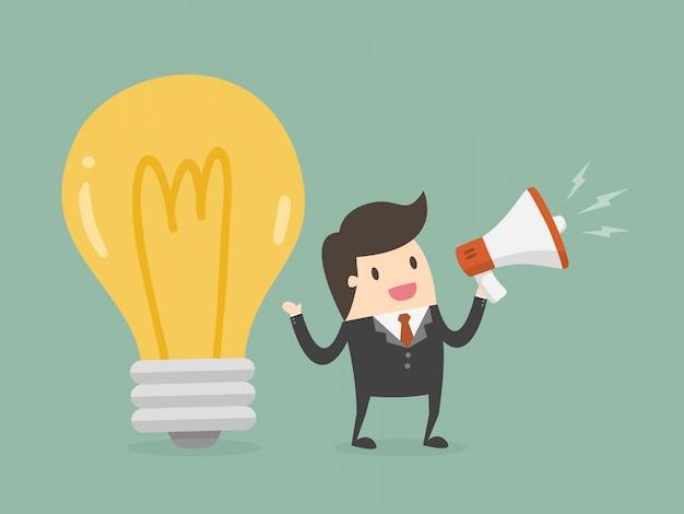 Werbung und marketing-konzept