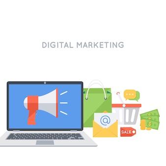 Werbung und promotion