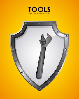 Werkzeug-emblem