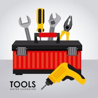 Werkzeuge einfaches element