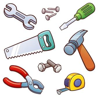 Werkzeuge eingestellt