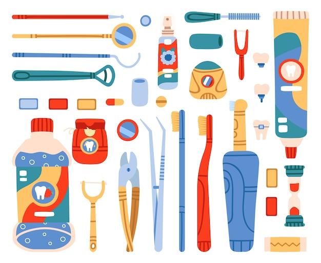 Werkzeuge für mundreinigung und mundhygiene