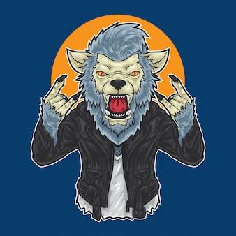 Werwolf rockstar