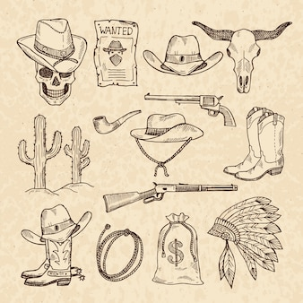 Westliche symbole