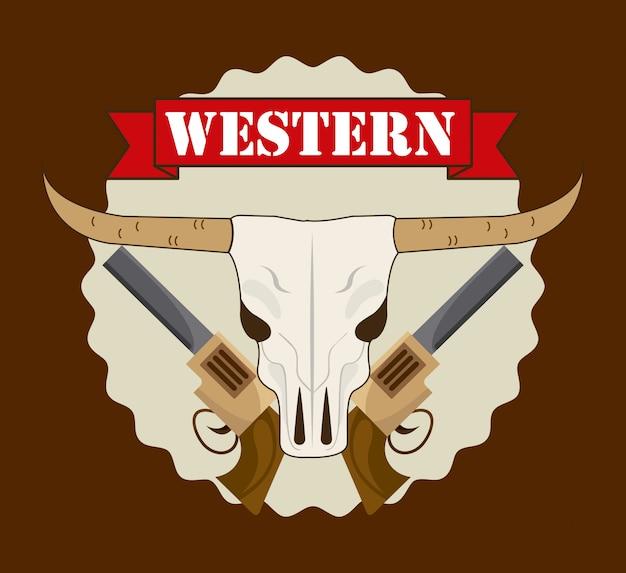 Westliches banner