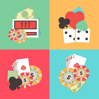 Wette klub würfel ausrüstung poker