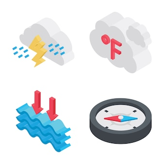 Wetter element icons