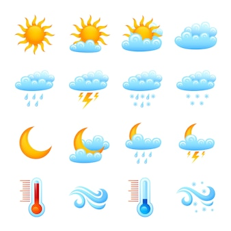 Wetter icon set
