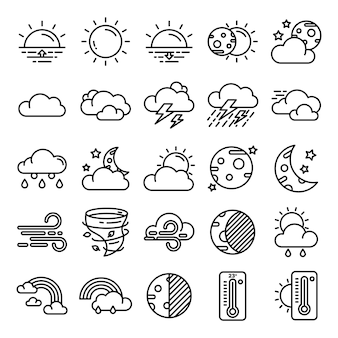 Wetter icons pack