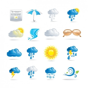 Wetter-ikonen-sammlung