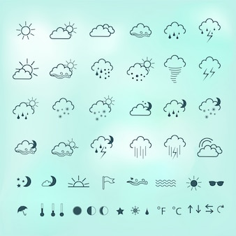Wetter-ikonen