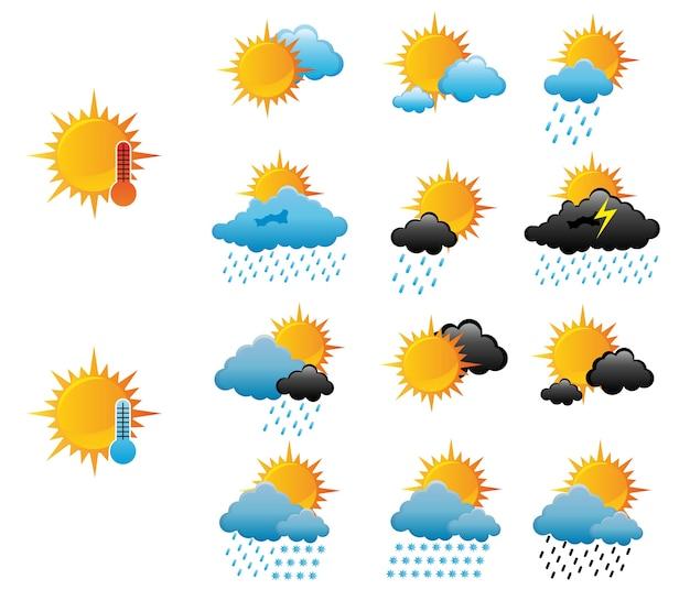 Wetter-symbole