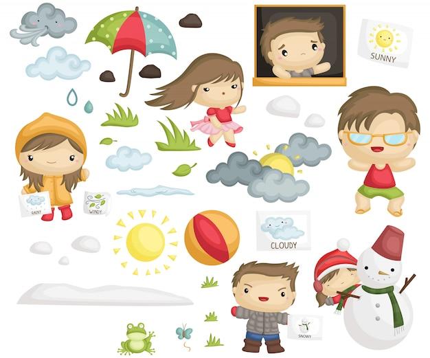 Wetter und jahreszeit