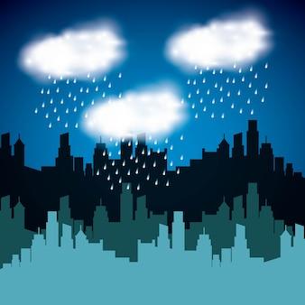 Wetterbedingungsdesign, grafik der vektorillustration eps10