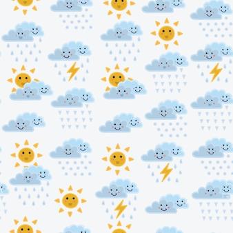 Wetterkonzept hintergrund