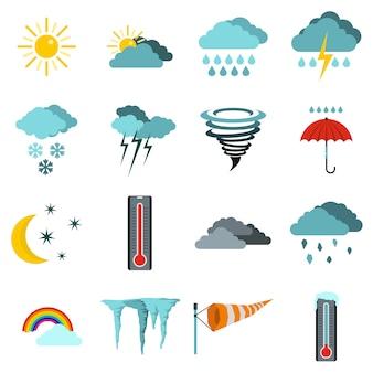Wetterset symbole