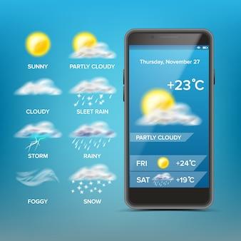 Wettervorhersage app