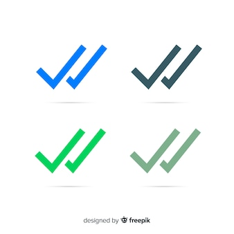 Whatsapp doppel-check-design