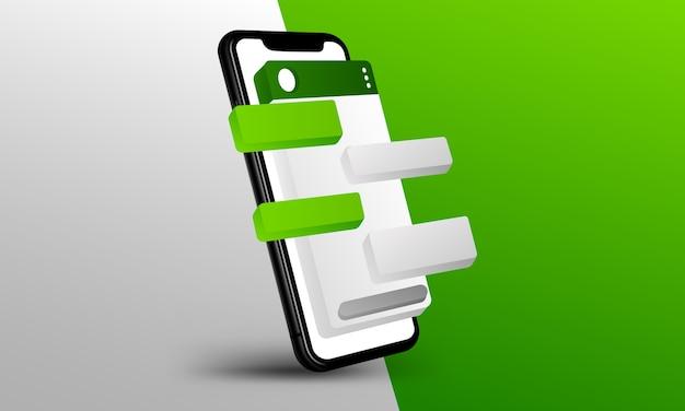 Whatsapp layout
