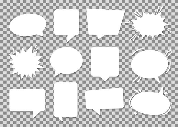 Whitepaper sprechblasen.