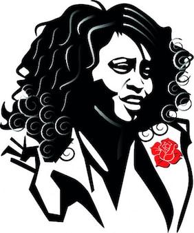 Whitney houston porträt
