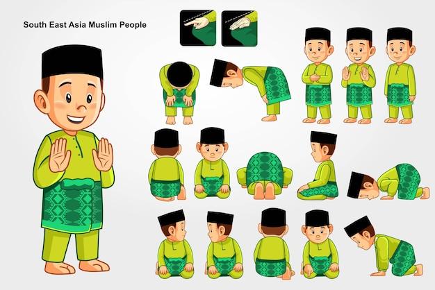 Wie man für muslime betet.
