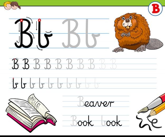 Wie schreibe ich arbeitsmappe b für kinder