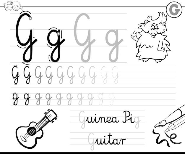 Wie schreibe ich g