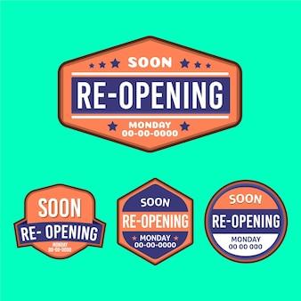 Wiedereröffnung bald abzeichen gesetzt