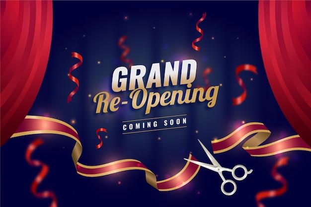 Wiedereröffnung bald hintergrundthema