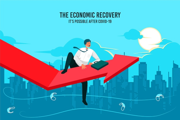 Wiedereröffnung der städtischen wirtschaft nach der krise